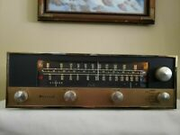 McIntosh MR-55A Vintage Tube Tuner Tested and Functional With Tubes