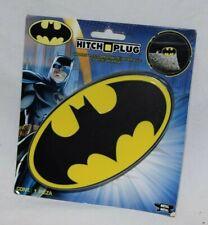 "Batman Logo Hitch Plug Cover PlastiColor 2"" & 1 1/4"" Receivers Universal NEW"