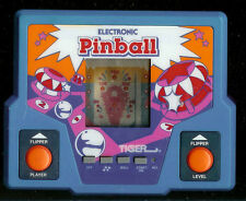 1990's PINBALL TIGER ELECTRONIC HANDHELD POCKET ARCADE LCD VINTAGE VIDEO GAME