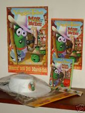 VeggieTales Moe Big Exit DVD Hat Mask Posters Stickers