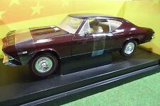 CHEVROLET CHEVELLE SS396 1968 Marron au 1/18 AMERICAN MUSCLE ERTL 36382 voiture