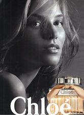 PUBLICITE ADVERTISING  2012   CHLOE  cosmétiques parfums