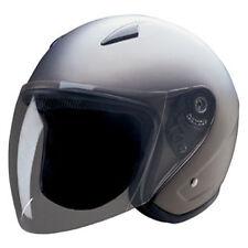 DOT Fiberglass Open face helmet (570-matt dark silver)