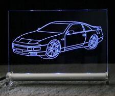 Nissan 300 ZX    LED Schild Gravur   300ZX Leuchtschild