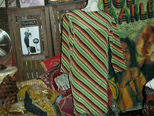 RICKIE FREEMAN FOR TERI JON NITES Lovely Striped Silk Dress Size 4
