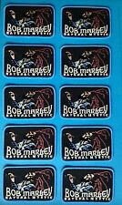 10 Lot Bob Marley Reggae Music Iron On Hat Jacket Backpack Hoodie Patches Crests