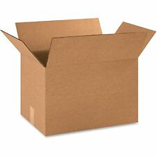 "Box Partners Shipping Boxes 18""x12""x12"" 25/PK Kraft 181212BX"