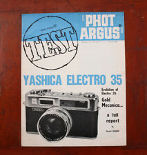 PHOT ARGUS YASHICA ELECTRO 35 TEST REPORT REPRINT, 1968/213141