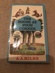 A A Milne - House at Pooh Corner - P/B 1973 Published Winnie the Pooh - Vintage