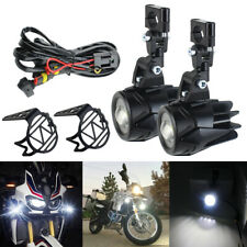 40W Moto LED Auxiliary Fog Light Driving Lamp For BMW R1200GS/ADV F800GS K1600