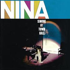 Nina Simone - Nina Simone At Town Hall 180G LP REISSUE NEW 4 MEN WITH BEARDS