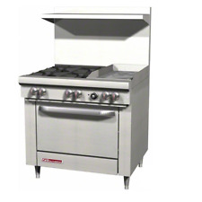 Southbend S36d 1g 36 Gas Range With Standard Oven 4 Open Burners With 12 Griddle