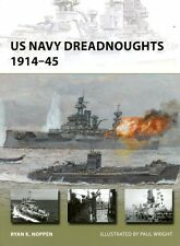 Osprey New Vanguard US Navy Dreadnoughts 1914-45 by K.Noppen & Wright #208