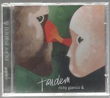 TANDEM RICKY GIANCO & BATTIATO DE ANDRE' VANONI GABER PAOLI CD F.C. NUOVO!!!