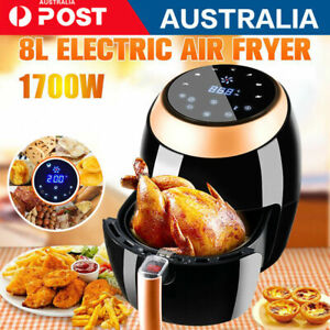 Air Fryer 8L  Electric LCD Fryers Healthy Cooker Oil Free Kitchen Oven Airfryer