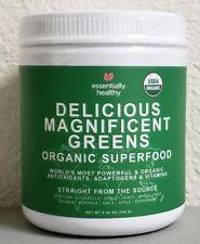 Essentially Healthy Delicious Magnificent Green Organic Superfood 8.46 oz