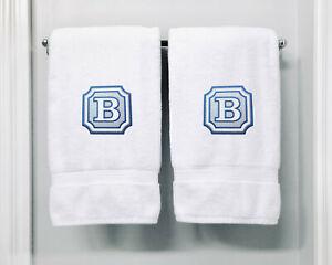 Personalised Monogrammed Bath Towel