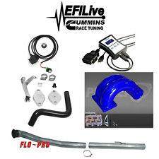 EFI Live Tuner 07-09 Dodge Ram 6.7L for Cummins DPF EGR Delete Kit Pusher Intake