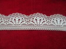 Free Shipping 5 yards beautiful white lace lace yarn pressure width 3 cm