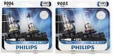 2x Philips 9005+9006 Upgrade More Bright Vision Headlight Light Bulb 65W Germany