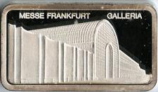 Degussa 1 Unze Feinsilber Messe Frankfurt Galleria 1 oz Fine Silver Art Bar