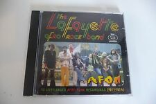 THE LAFAYETTE AFRO ROCK BAND CD AFON RACUBAH RED MATCH BOX OZAN KOUKLE...