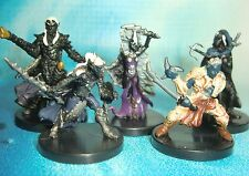 Dungeons & Dragons Miniatures  Drow Fighter Drow Cleric Drow Assassin !!  s114