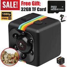 Nanny Cam Camera Security Hidden Small USB Covert Secret Mini Video Home 32GB TF