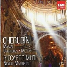 RICCARDO MUTI/+ - CHERUBINI BOX: MUTI EDITION 7 CD CHOR KLASSIK NEW+ CHERUBINI