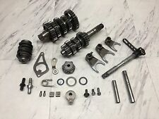 04 2004 HONDA CRF250R CRF250 OEM TRANSMISSION MAIN COUNTER SHAFT GEAR DRUM FORK