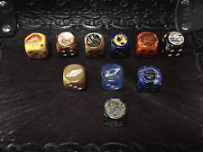 Planetary D6 Dice Set of Ten Dice, All the Planets and the Sun - Customized Dice