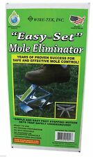Ez Set Mole Eliminator Trap Made in the USA Rodent Control # 01001