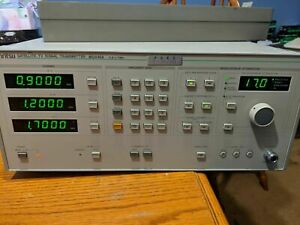 Anritsu MG646A Satellite Broadcast TV Signal Transmitter