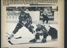 3ab4f9be5 Steve Yzerman LOT of 9 Press Photos 1983 - 1993 Detroit Red Wings