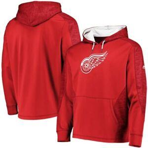 DETROIT RED WINGS MAJESTIC NHL Men's Armor ThermaBase Hoodie Sweatshirt NWT $70