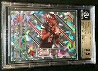 BGS 9.5 RC /23 LAMAR JACKSON 1/1 w/ 2 SUB 10 *CRACKED ICE ROOKIE 2018 Contenders
