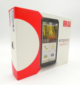 emporia SMART.3 Senioren Smartphone 5,5 Zoll Maxi Display 16 GB Android schwarz-