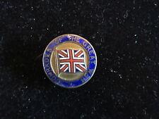 World War I ~ Brass and Enamel Pin ~ British Comrades Of The Great War ++GOOD++