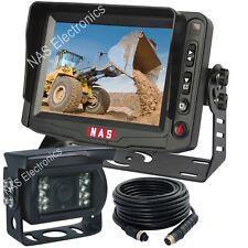 "Security Camera Kit With Reversing CCD Waterproof Backup Camera Kit 5"" Monitor"
