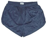 Soffe Crown Blue Nylon Ranger Panties / Silkies Running Track Shorts Men's Large