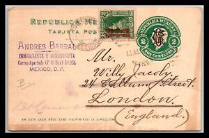 GP GOLDPATH: MEXICO POSTAL CARD 1917 _CV712_P14