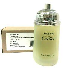 Pasha by Cartier  3.3 oz  EDT  Men's Cologne No Cap Tester