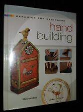 HAND BUILDING Ceramics : Potter Ceramic Design Technique Book | HB, 2008
