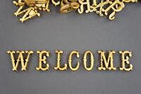 250+ Wooden Small (2cm) Adhesive Letters & Digits Craft Alphabet Decoration NF26