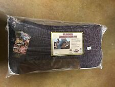 "WEAVER Purple Zebra All Purpose Contoured Saddle Pad 30"" x 30"""
