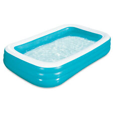 """Freeshipping Play Day 120""""x72""""x22"""" Rectangular Inflatable Family Pool"""