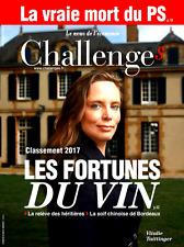 CHALLENGES n°526 du 15-21.6.2017**MACRON met KO les vieux partis*FORTUNES du VIN