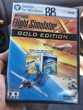 MICROSOFT FLIGHT SIMULATOR X GOLD EDITION