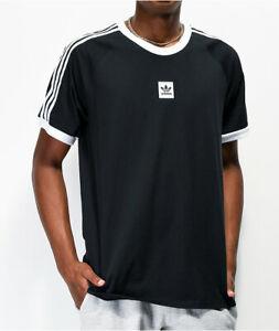 adidas Men's Cali 2.0 Black T-Shirt XXL EC7375