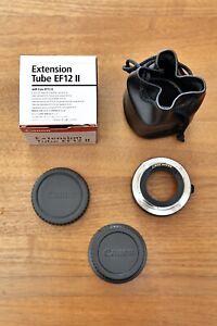 Canon EF 12 II Tube Extension - Makro Adapter Zwischenring - Sehr guter Zustand